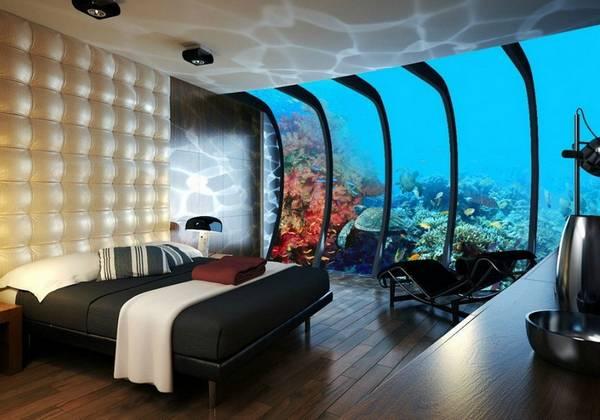 Аквариум в интерьере - идеи создания подводного мира в доме