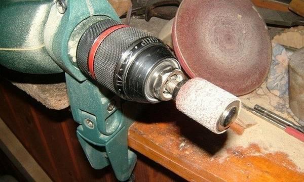 Как сделать шлифовальный круг для дрели